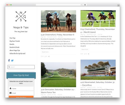 Theme WordPress Bellissima - nags.tips