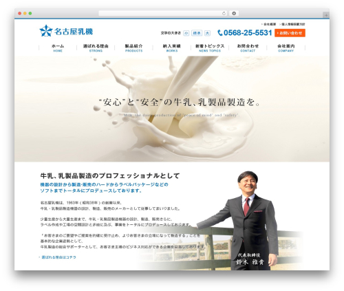 Theme WordPress pc - nagoyanyuki.com