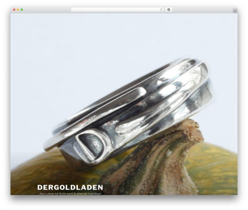 Twenty Seventeen premium WordPress theme - dergoldladen.com