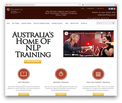 UberStore WordPress theme - nlpcoaching.com.au