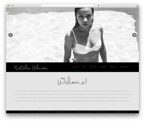 WordPress theme X - natgilmore.com