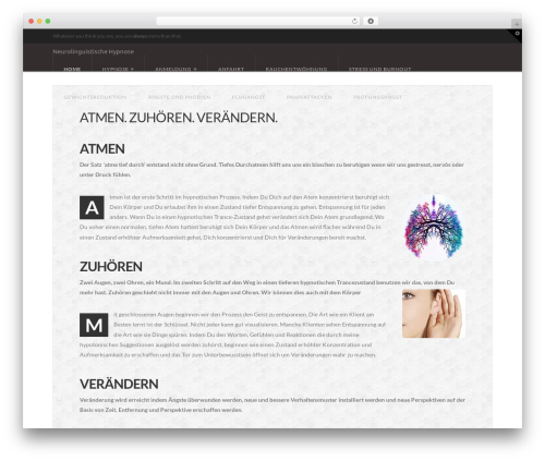 WP theme X - neurohypnose.de