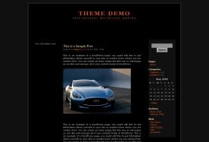 3c-Black-LetterHead WordPress template