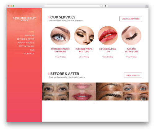 BeautySpot WordPress theme - forevermakeupnow.com