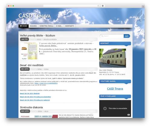 Best WordPress theme Mystique - Oblak - trnava.casd.sk