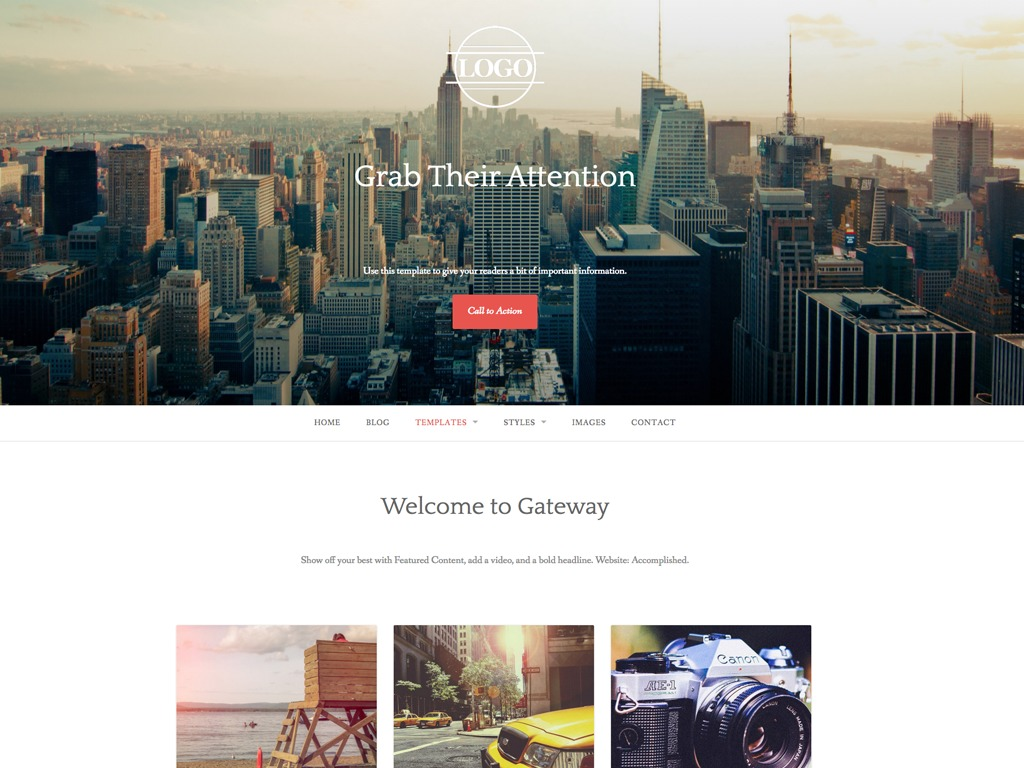 Gateway - WordPress.com WordPress movie theme