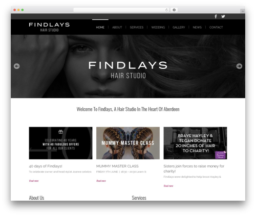 Lounge premium WordPress theme - findlays.info