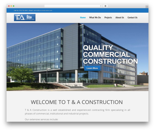 Quasar (Shared on MafiaShare.net) WP theme - tna-construction.com