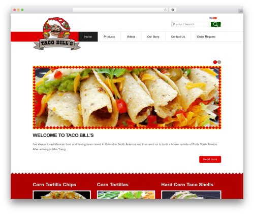 Free WordPress WP Responsive header image slider plugin - tacobills.com/en