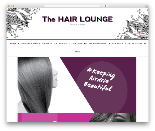 WordPress custom-facebook-feed-pro plugin - thehairloungeairdrie.com
