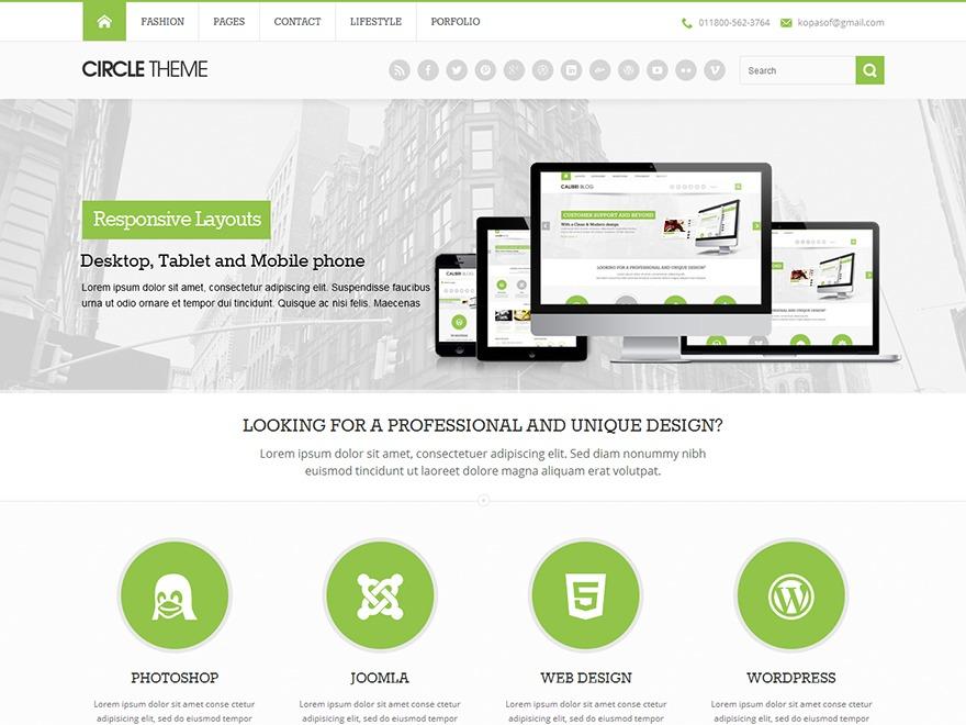 TakePro (Based on Circle LITE) WordPress news theme