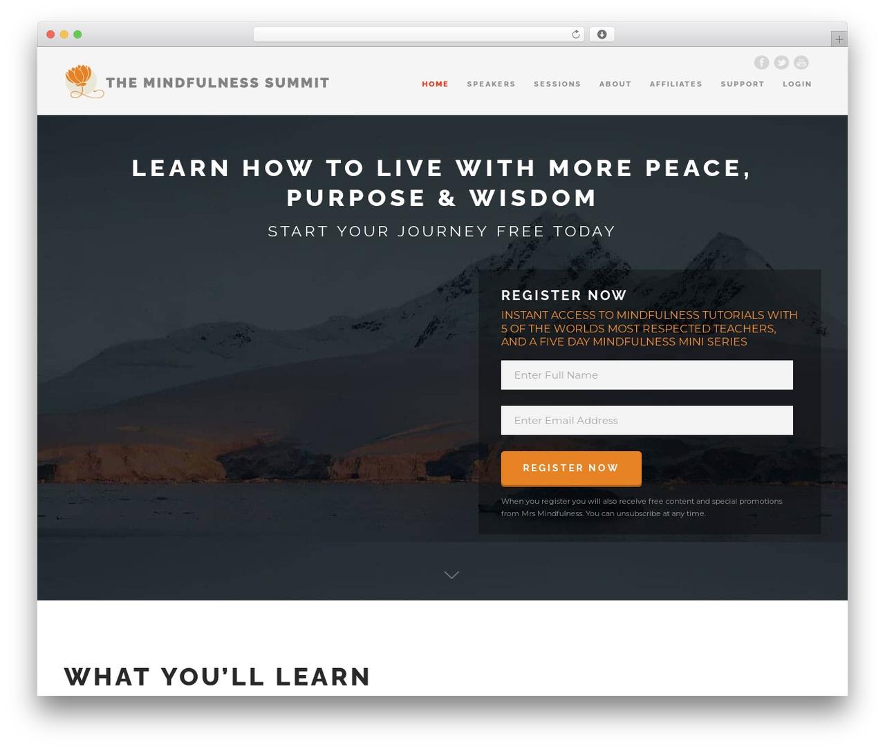 The Keynote top WordPress theme by Goodlayers