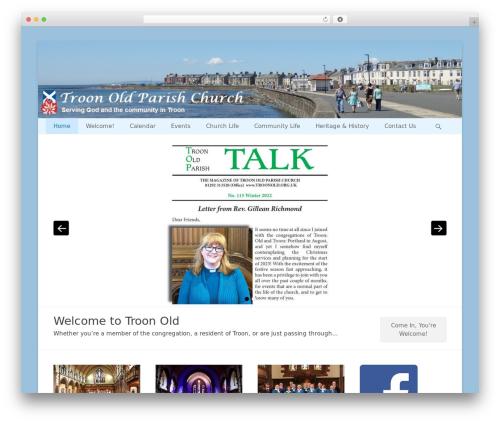 Theme WordPress Catch Base Pro - troonold.org.uk