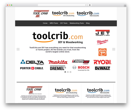 Theme WordPress Isis Pro - toolcrib.com
