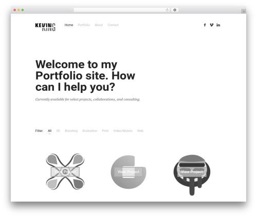 Theme WordPress Skills - therightking.com