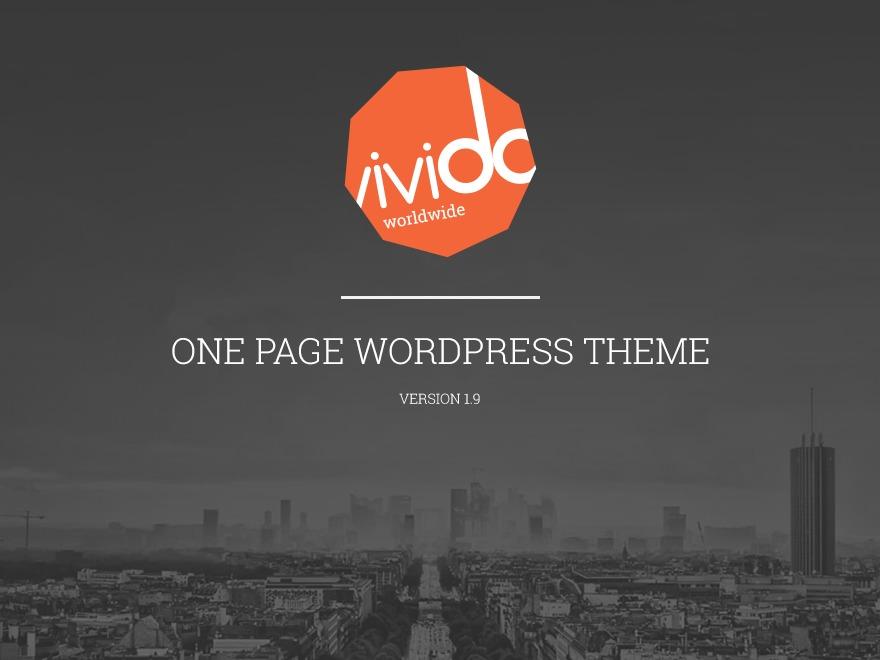 Vivido WordPress Theme WordPress template for business