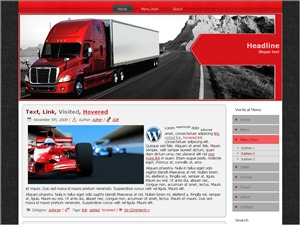 WordPress theme Fast Delivery