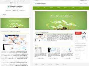 WordPress website template responsive_089