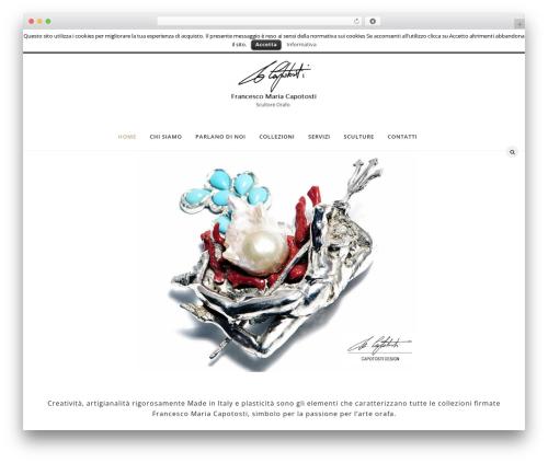 WP template Soffia - francescomariacapotosti.com