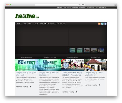 Yamidoo PRO Magazine WordPress theme - takbo.net