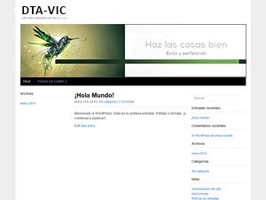 Best WordPress template Ramiro rozas