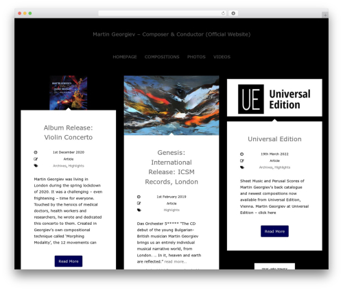 Sueva best WordPress theme - newspressreleases.martingeorgiev.net