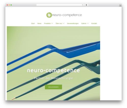 Sydney best free WordPress theme - neuro-competence.de