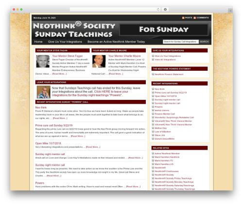 Church Child Theme WordPress theme - neothinksunday.com