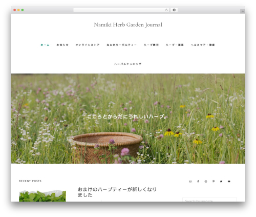 Gallery Pro WordPress photo theme - namikiherb.com