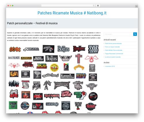 SeaSun WordPress template free - natibongo.it