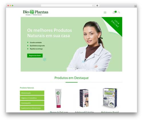 Theme WordPress Betheme - bioplantas.com