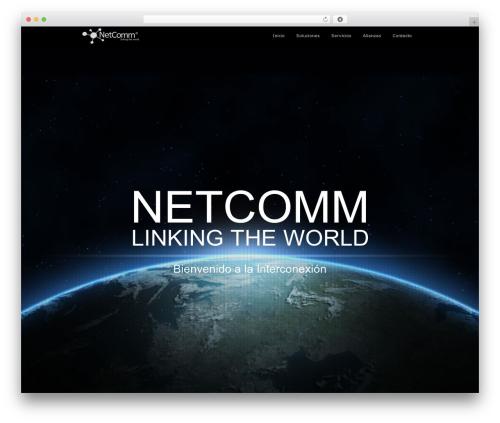 Theme WordPress Encore - netcomm.mx