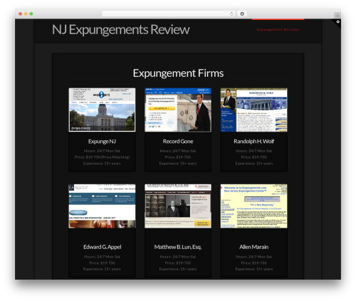 Theme WordPress X - njexpungementsreview.com