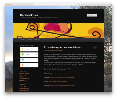 Twenty Eleven free website theme - nikosia.contrabanda.org