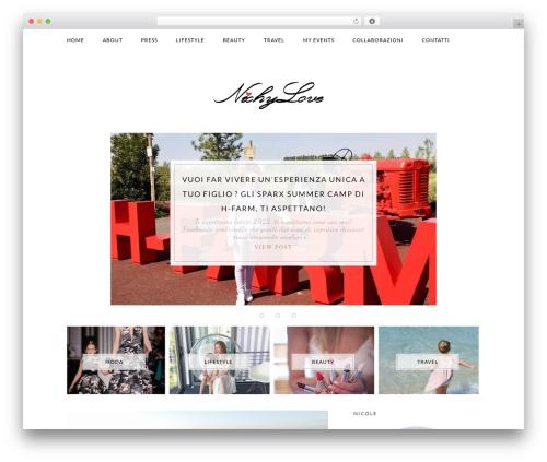 WordPress theme Elle - nichylove.com