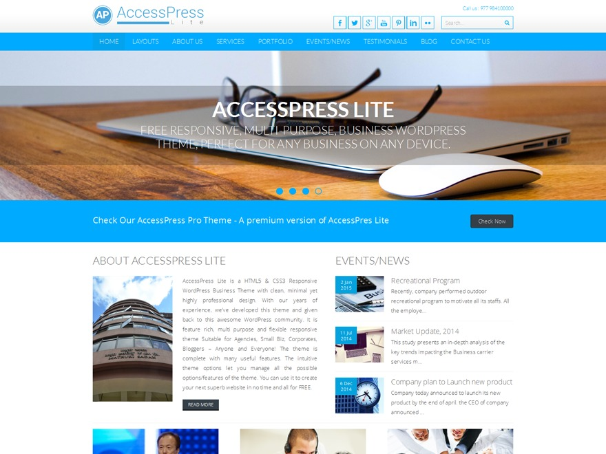 Access-Child best WordPress theme