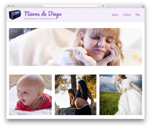 Best WordPress template Virtue - nievesdediego.com