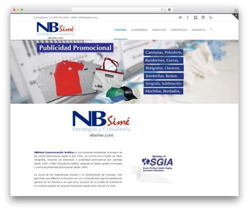 Best WordPress theme INOVADO - nbsime.com/web
