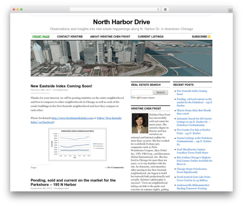 Cutline 3-Column Right real estate WordPress theme - northharbordr.com