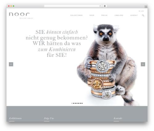 Milo theme WordPress - noor-jewels.de
