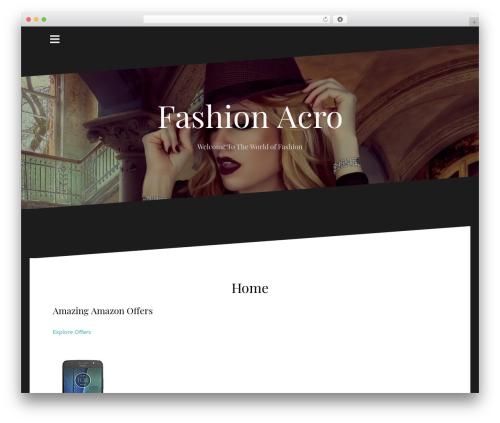 Free WordPress Custom Banners plugin - fashionacro.com