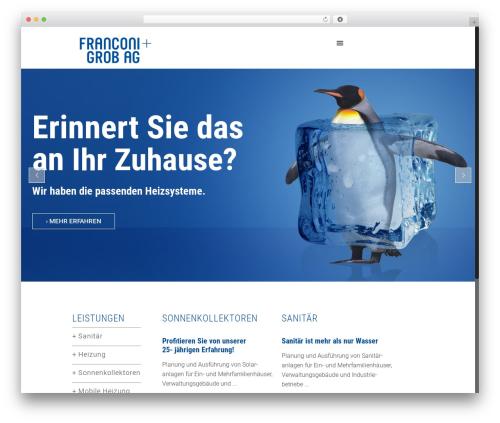 Betheme WordPress theme - franconigrob.ch