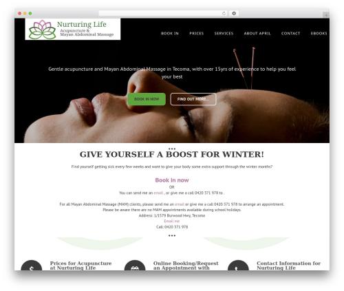 Enliven Pro WP template - nurturinglife.com.au