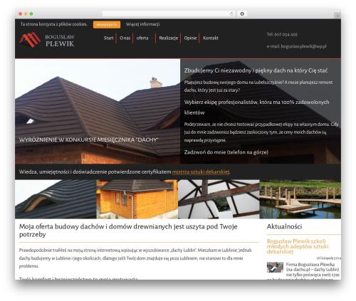 Gantry Theme for WordPress WordPress theme - na-dachu.pl
