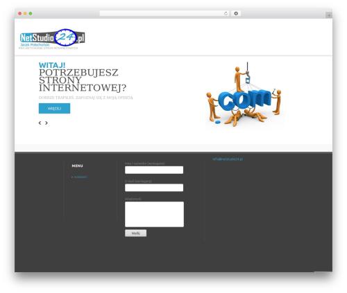 Template WordPress cherry - netstudio24.pl