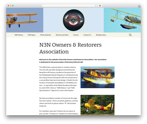 Twenty Thirteen WordPress theme - n3nowners.org