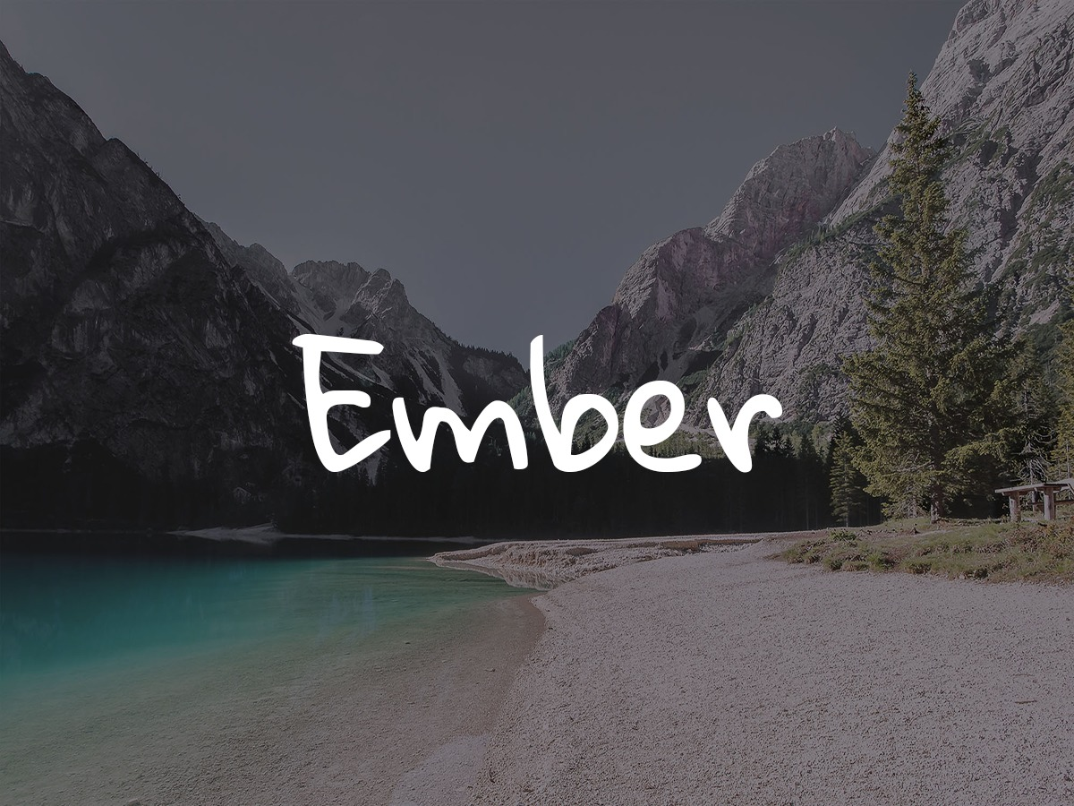Embertheme WordPress blog template