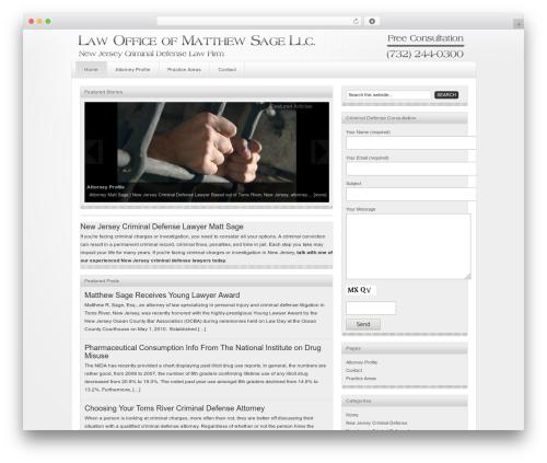 Genesis WordPress theme - newjersey-criminaldefense.com