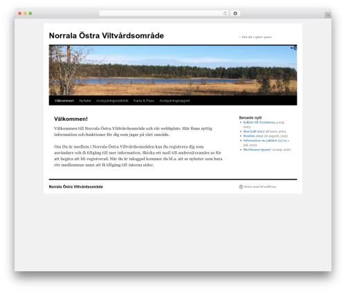 Twenty Ten WordPress theme free download - norralajakt.se