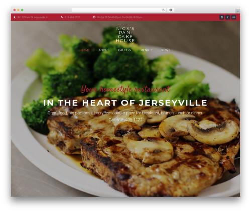 Best WordPress template Bettaso - nickspancakehouse.com